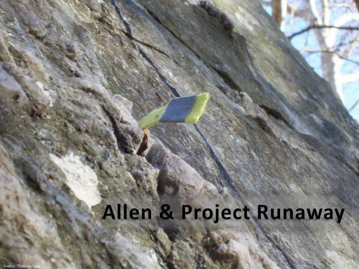 Allen & Project Runaway