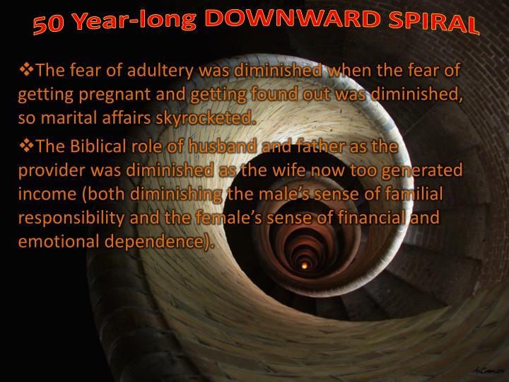 50 Year-long DOWNWARD SPIRAL