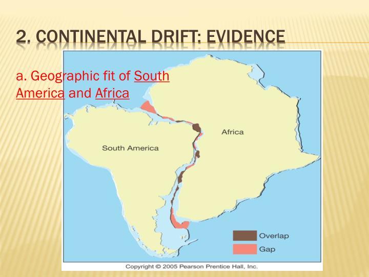 2 continental drift evidence