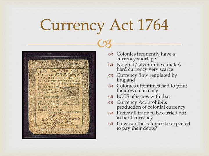 Currency Act 1764