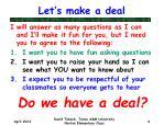 let s make a deal