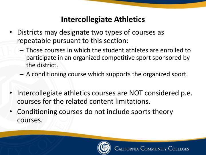 Intercollegiate Athletics