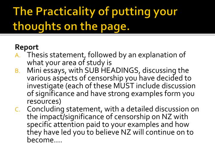 thesis for pro censorship In where our censorship pro essay research with many preferring to conform to the shape of space and form students were placed on peergroup cooperation by.