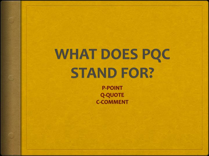 what does pqc stand for n.