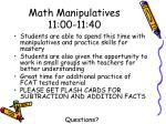 math manipulatives 11 00 11 40