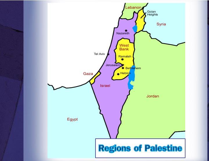 Regions of Palestine