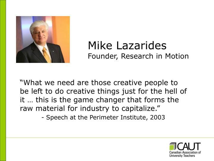 Mike Lazarides