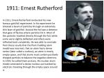 1911 ernest rutherford