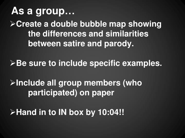 As a group…