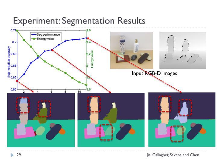 Experiment: Segmentation Results