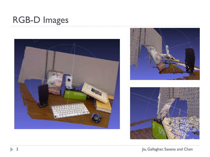 Rgb d images
