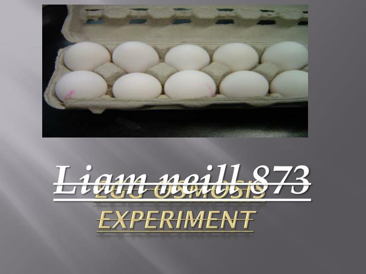 egg osmosis experiment n.