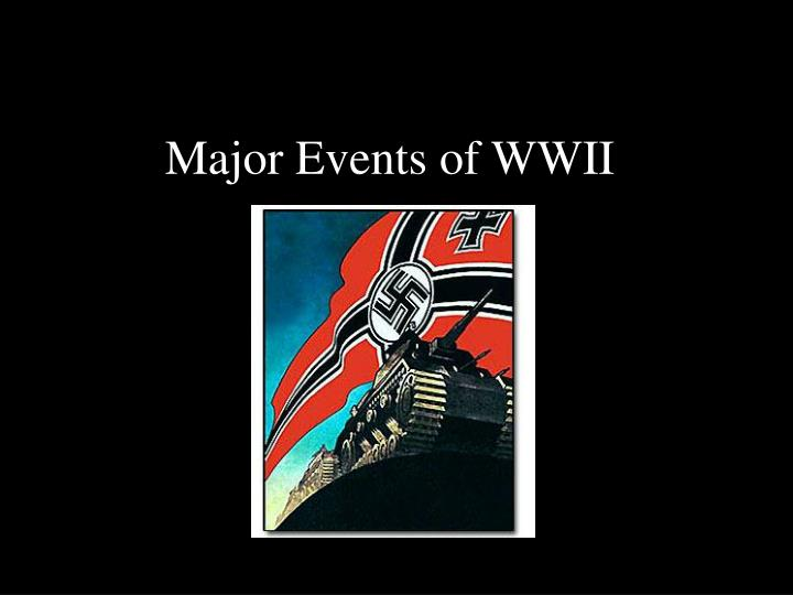major events of wwii n.