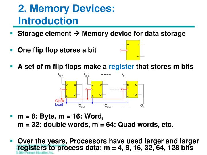 2. Memory Devices:
