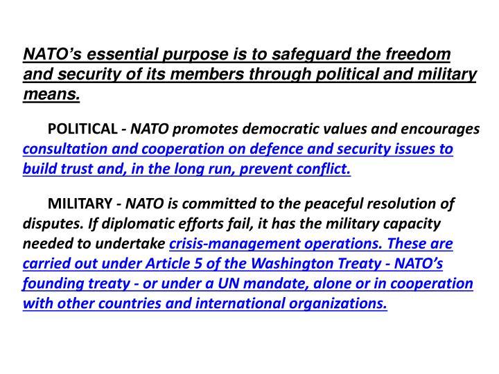 NATO's