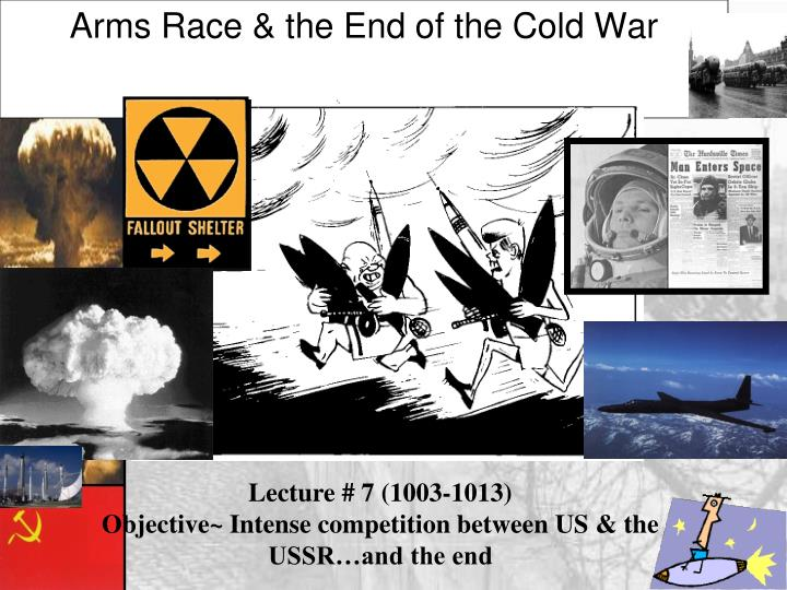 arms race the end of the cold war n.