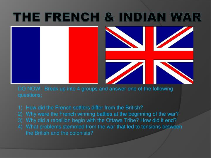 how did the french and indian The french and indian war was the greatest military challenge faced by the connecticut colony between the time of king philip's uprising and the american revolution the war had a profound impact on the colony because it severely taxed economic, political, and manpower resources and set in motion forces that caused connecticut and britain's.