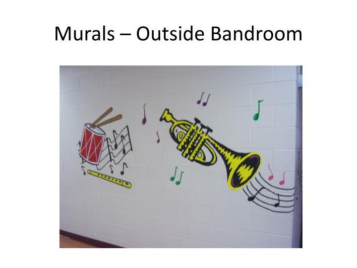 Murals – Outside