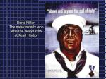dorie miller the mess orderly who won the navy cross at pearl harbor