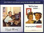 john falter s recruitment series for the waves 1943 44
