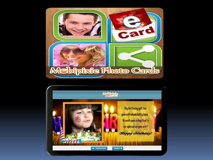 How to photo sharing mobicards