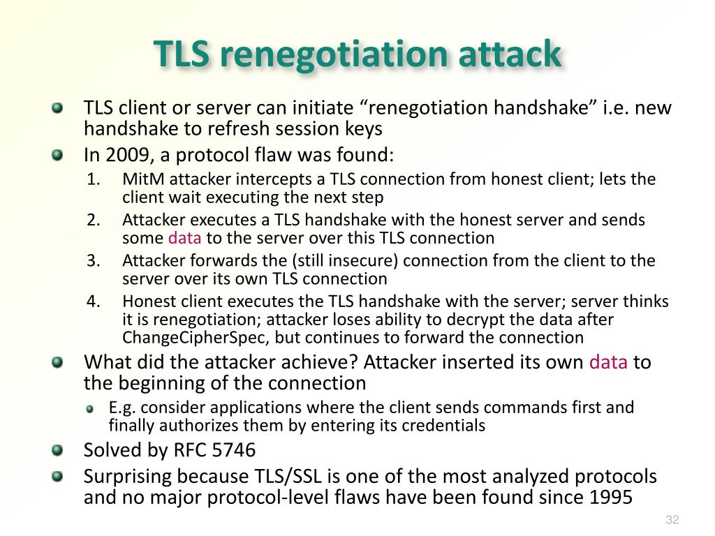 PPT - Network Security: TLS/SSL PowerPoint Presentation - ID:2522980