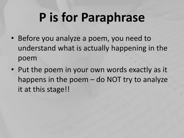an analysis of the topic of the poem and the romance Poetry analysis may define as a critical review given on a poem, a reflection on the depth and gravity of a poem it revolves around multiple aspects of a poem starting from the subject of a poem, its theme (meaning), tone, literary devices or speech figures, form to the feeling of the poet to how a reader feels about the poem.