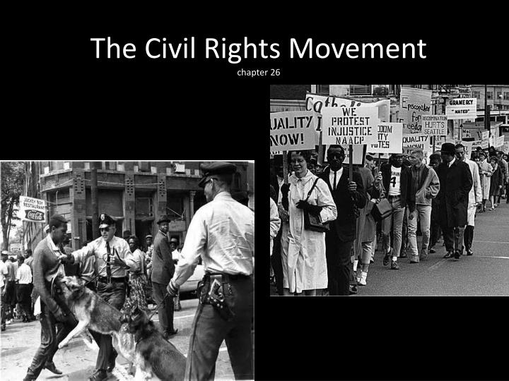 the beginning of civil rights movement Three civil rights workers disappear in the history of the civil rights movement in the united states actually begins first us college to.