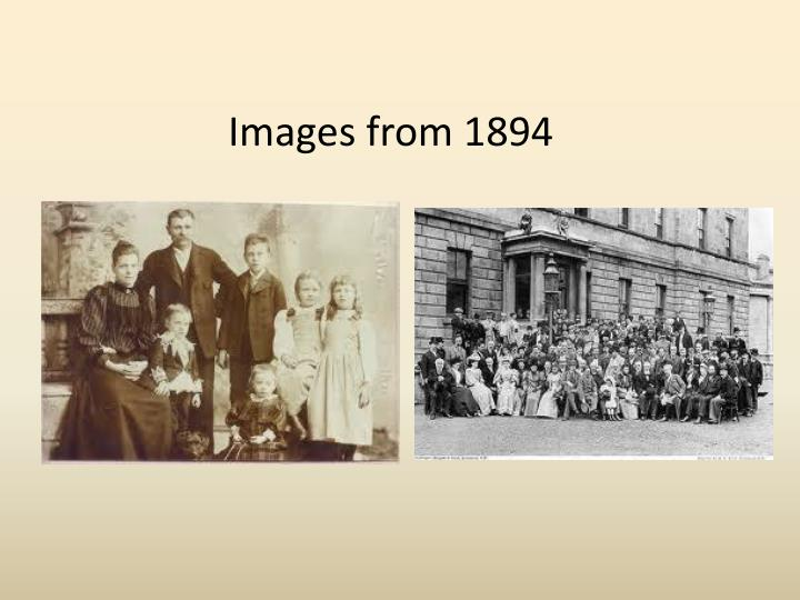 Images from 1894