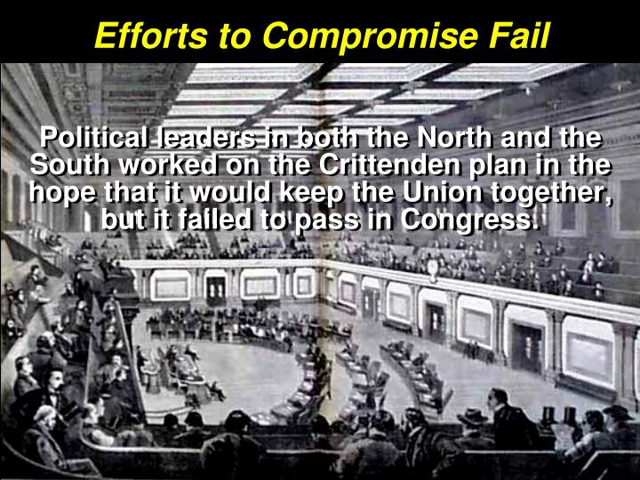 Efforts to Compromise Fail