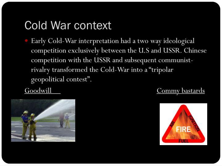 Cold War context