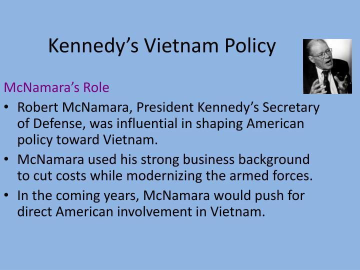 Kennedy's Vietnam Policy