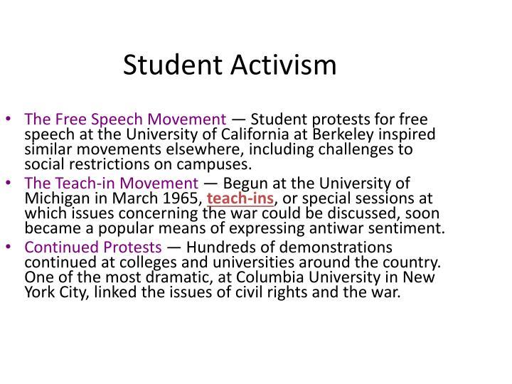 Student Activism