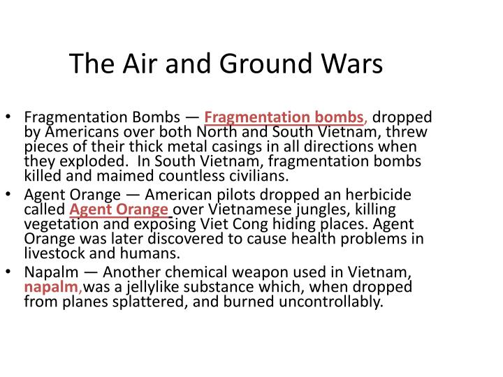 The Air and Ground Wars