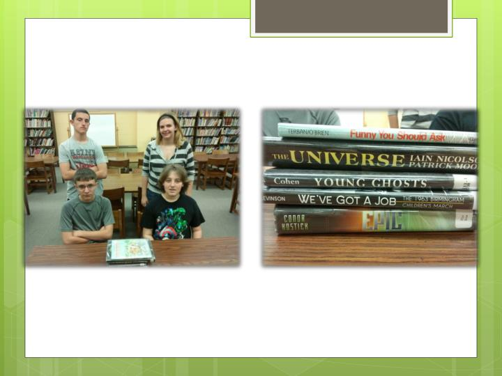 Book spine poems 2013