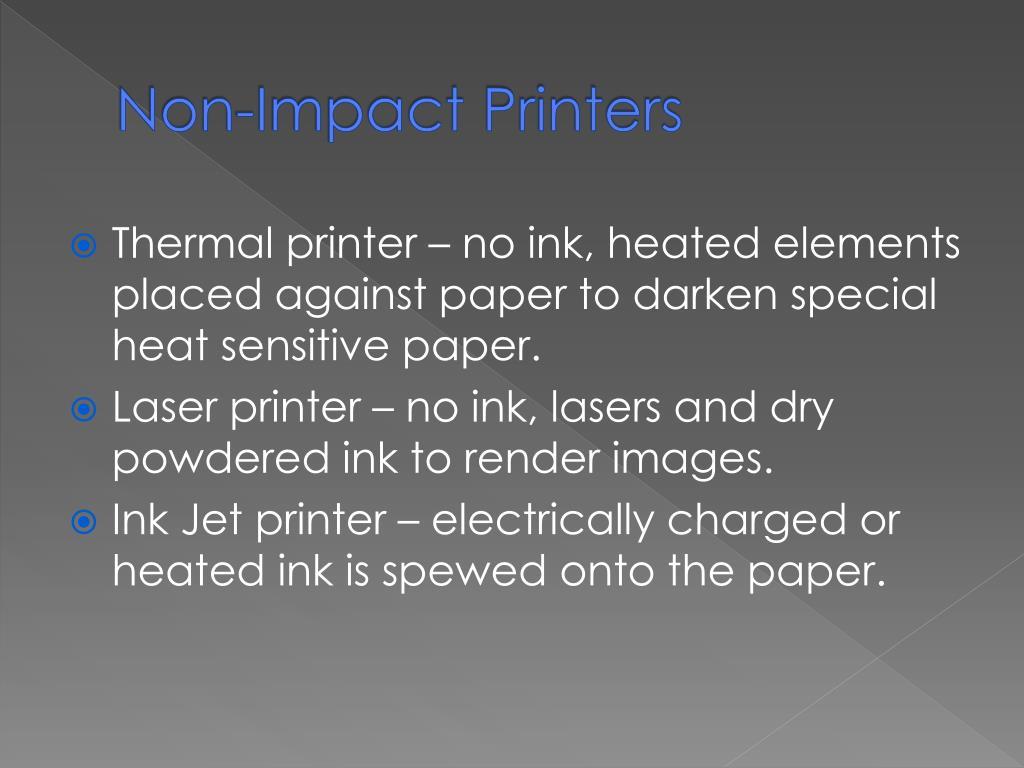 PPT - Printers PowerPoint Presentation - ID:2524651