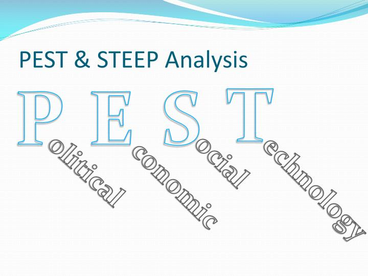Pest steep analysis1