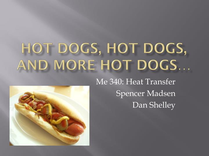hot dogs hot dogs and more hot dogs n.