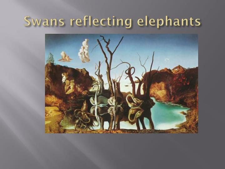 swans reflecting elephants analysis - 720×540