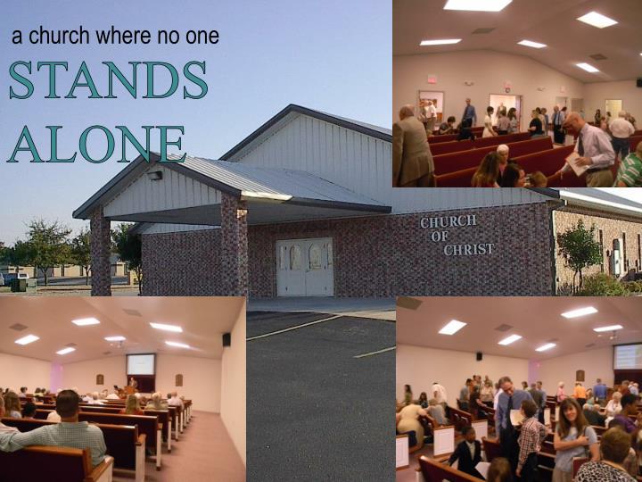 a church where no one