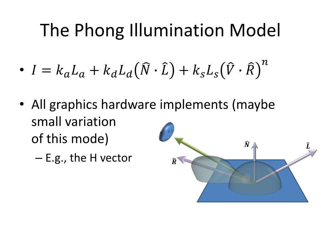 PPT - Illumination Model PowerPoint Presentation - ID:2525121