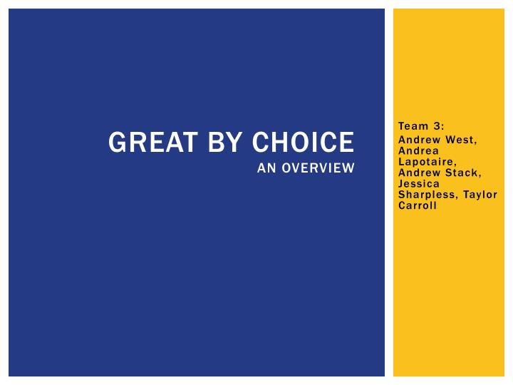 great by choice an overview n.