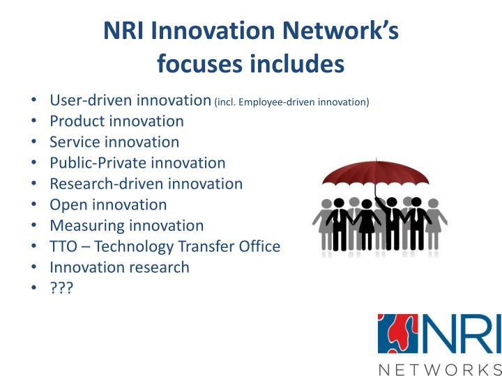 NRI Innovation