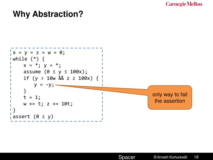 Why Abstraction?