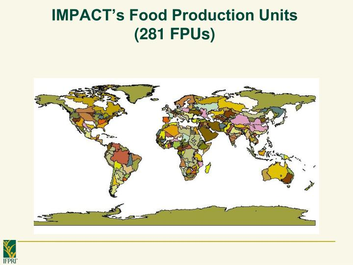 IMPACT's Food Production Units