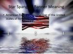 star spangled banner meaning