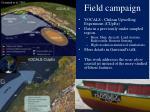 field campaign