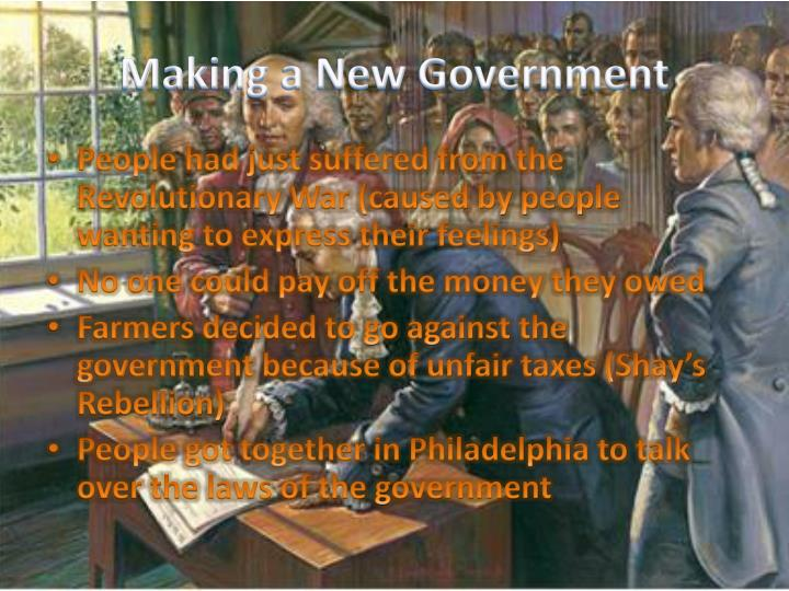 Making a New Government