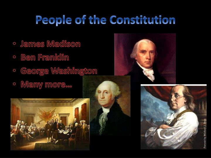 People of the Constitution