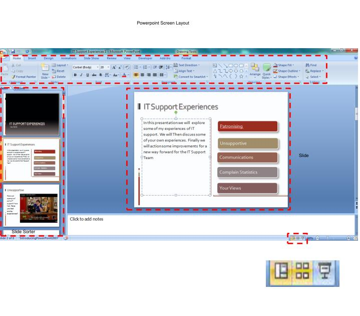 Powerpoint Screen Layout